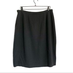 Vintage Giorgio Armani Classic Midi Pencil Skirt